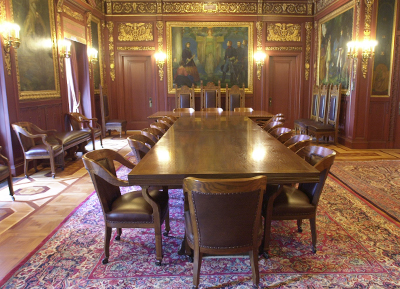 Image of the Wisconsin State Capitol Governors Conference Room