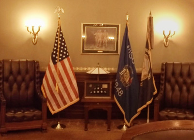 Image of the Wisconsin State Capitol Governors Office
